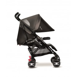 Silla Pop Star Silver Cross Black Negra