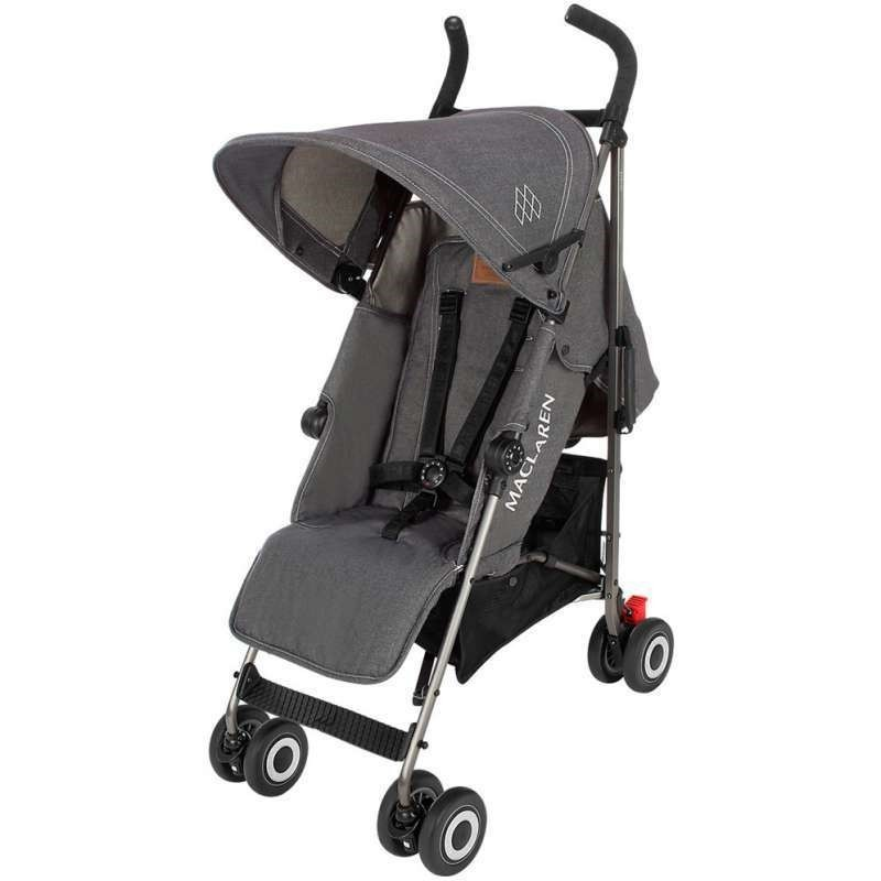 Silla Maclaren Quest  denim charcoal