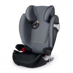 Silla de coche Cybex Solution M-fix graphite black
