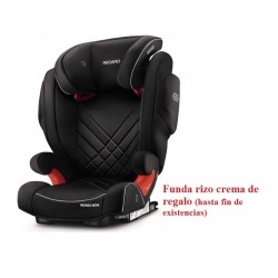 Sillas de coche Monza nova Seatfix 2017 Performance Black + regalo