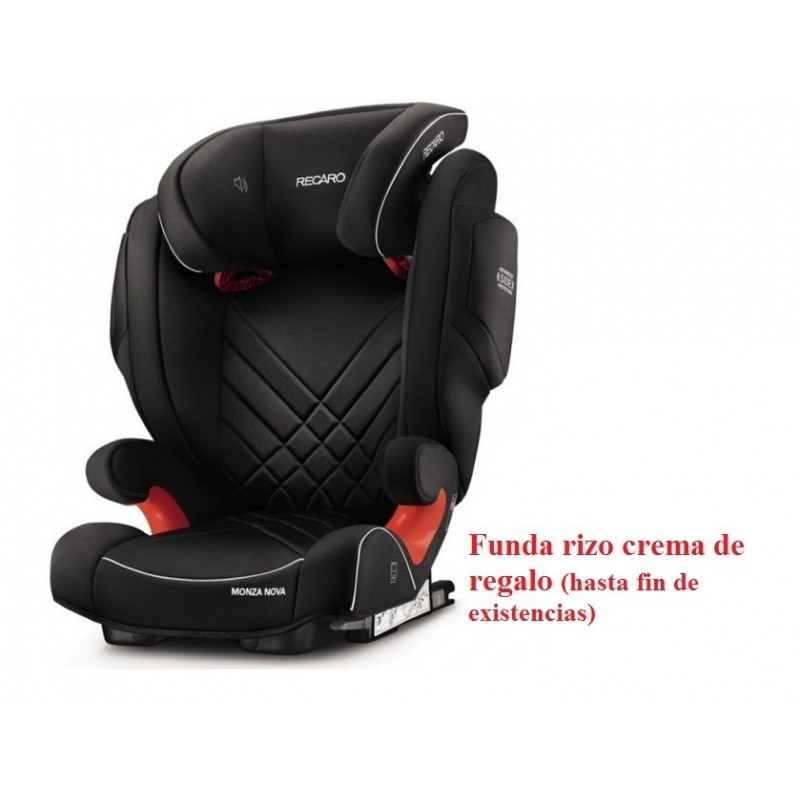 Sillas de coche Monza nova Seatfix 2017 Performance Black