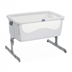Cuna Next 2 Me Light Grey de Chicco