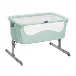 Cuna Next 2 Me Dusty Green de Chicco