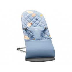 Hamaca BabyBjorn Bliss Cotton Confetti Azul
