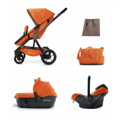 Trio Concord Wanderer Air sleeper Naranja