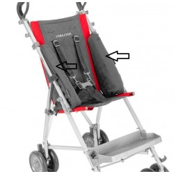 Soporte laterale silla MAJOR MACLAREN lateral soft