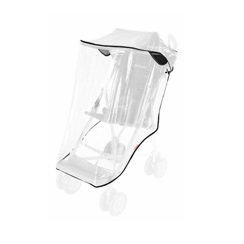 Burbuja-plástico de lluvia silla MAJOR MACLAREN raincover
