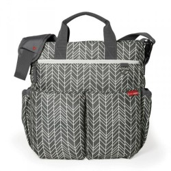 Bolso Skip Hop Duo Signature Feather + caja