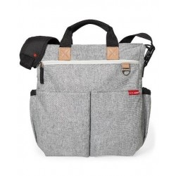 Bolso Skip Hop Duo Signature Grey...