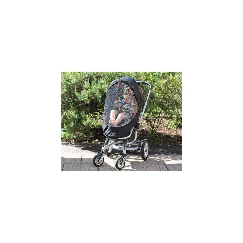 Protector de lluvia para coche de Bebé y Burbujas